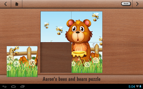 Aaron's Kids Honey Bear Puzzle- screenshot thumbnail