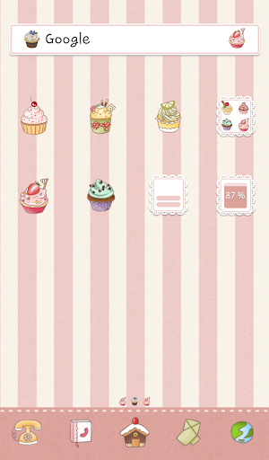 sweet cupcakes 도돌런처 테마