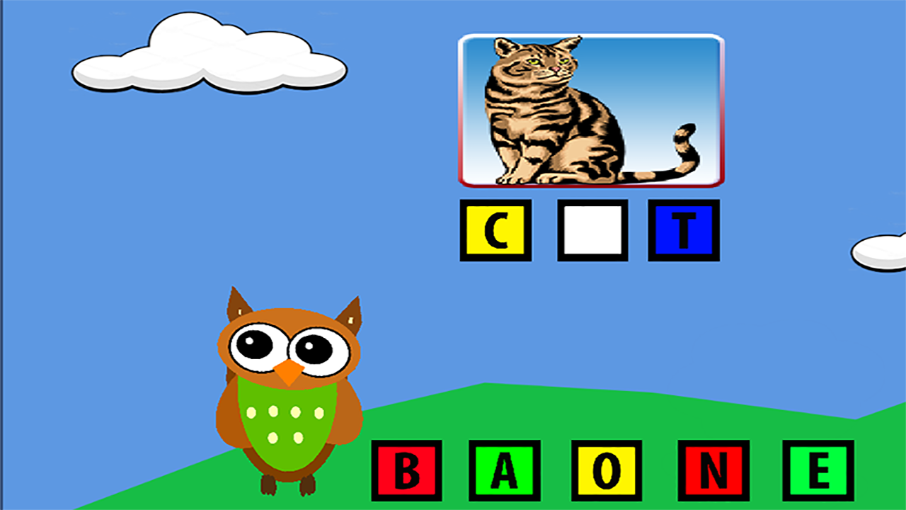 Learn ABC with Professor Hoot- screenshot