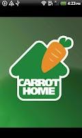 Screenshot of Carrot Home