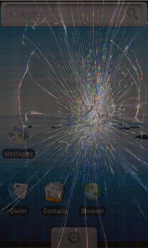 Broken Screen: Crack Screen: captura de tela