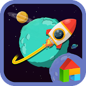 Colorful Space Dodol Theme