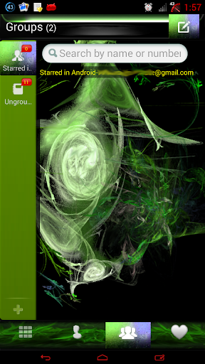 【免費個人化App】绿色的火焰GO联系人-APP點子