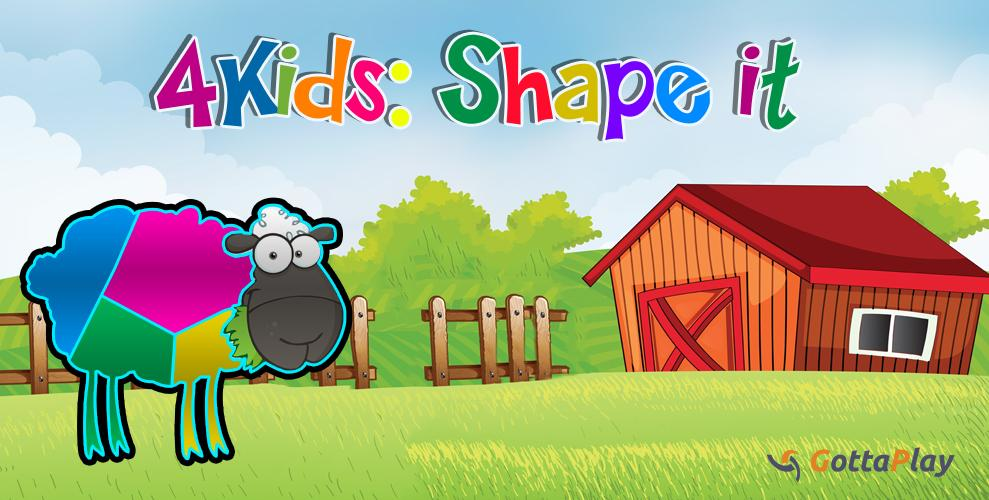 4 Kids: Shape it - screenshot