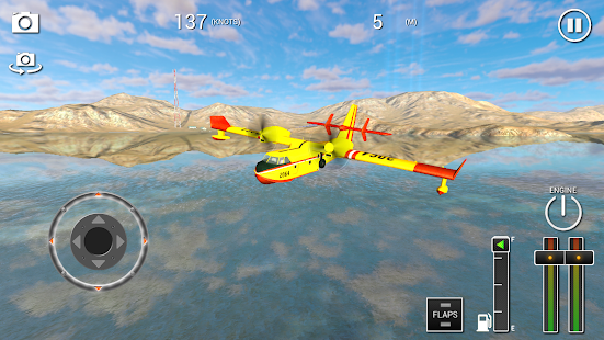 Flight Sim 3D Seaplane- screenshot thumbnail