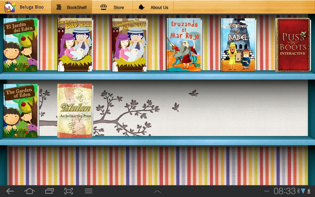 BelugaBloo Kids Bookstore - screenshot