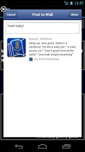 Voice Dictionary - screenshot thumbnail