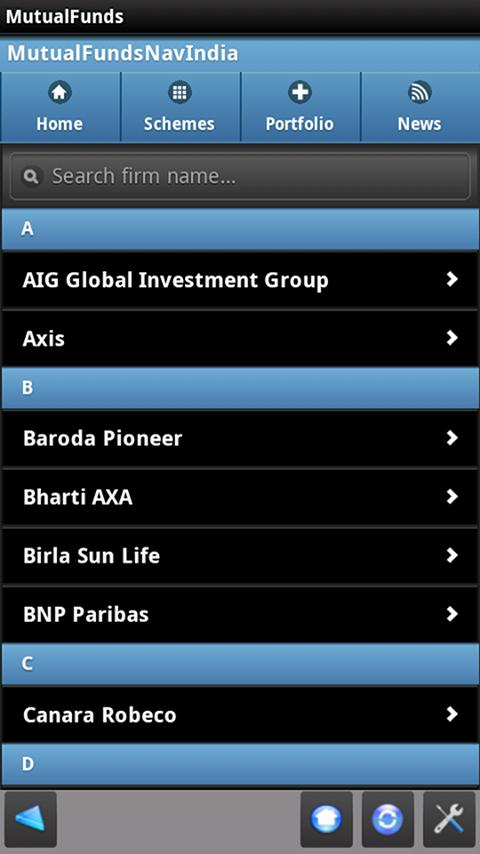 Mutual Funds India Lite- screenshot