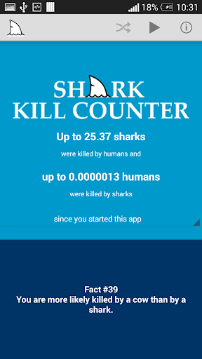 Shark Kill Counter