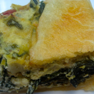 Crostata with Mixed Greens Recipe