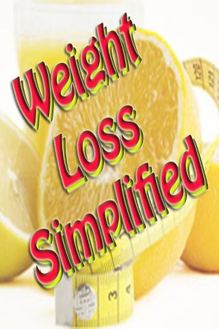 Weight Loss Simplified Ebook