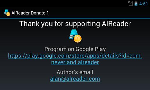 玩書籍App|AlReader Donate 1免費|APP試玩