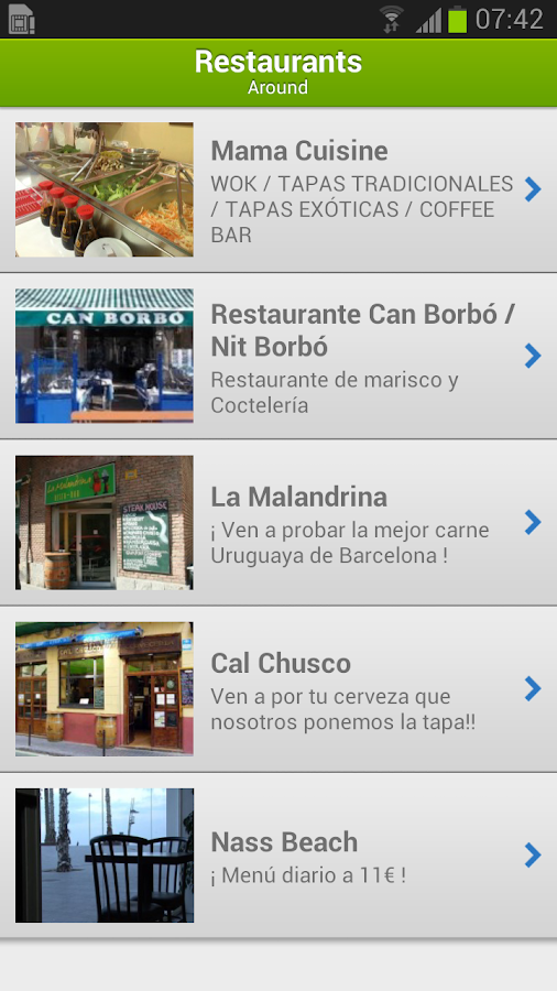 iBeach: Encuentra tu playa - screenshot