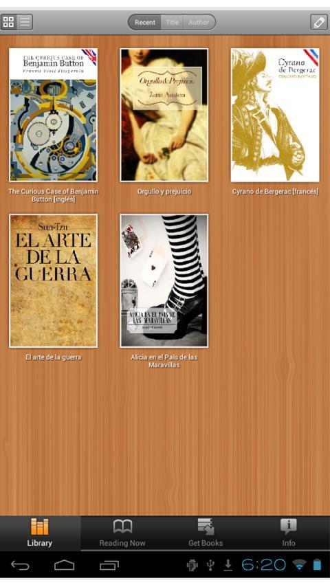 BajaLibros Reader- screenshot