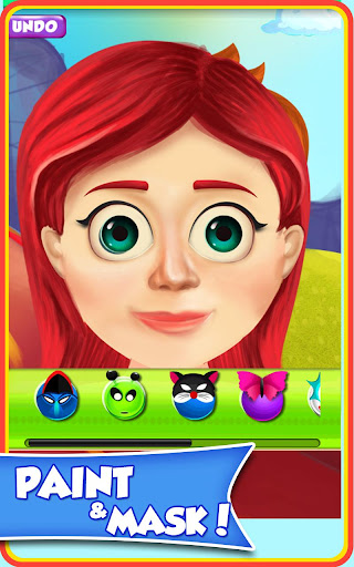 【免費角色扮演App】Baby Face Paint-APP點子