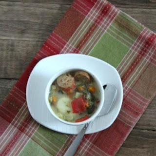 Skinny Rustic Italian Gnocchi Soup