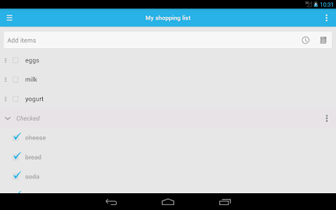 Shopping List screenshot 11