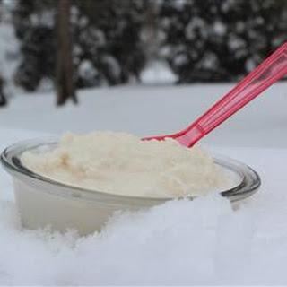 Snow Ice Cream With Sweetened Condensed Milk Recipes.