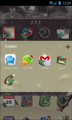 【免費個人化App】Soft Christmas Go Launcher-APP點子