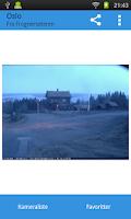 Screenshot of Webkamera Norge