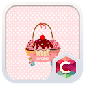 Pink Cupcake Sweet Cake Theme icon