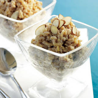 Maple Brown Rice Pudding.