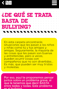 Basta de Bullying- screenshot thumbnail