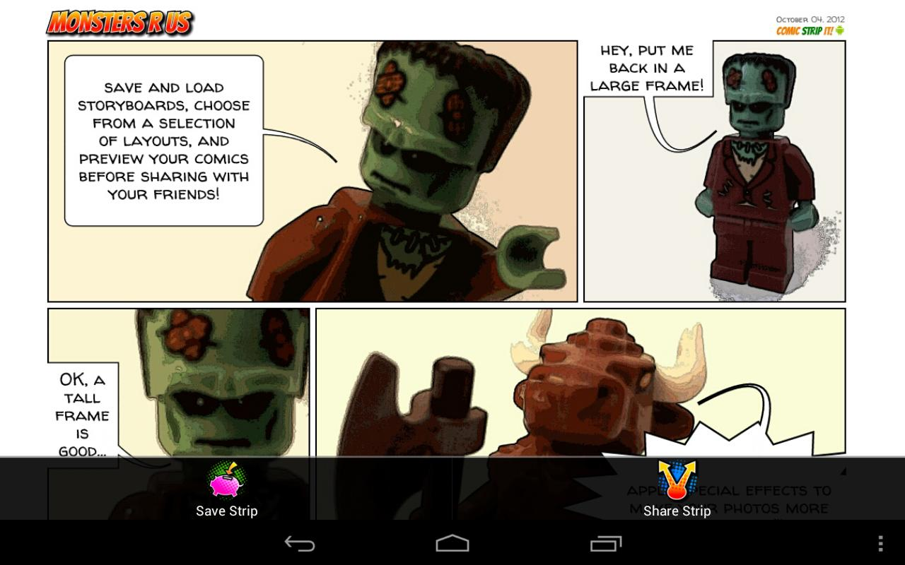 Comic Strip It! pro- screenshot