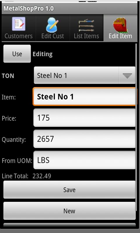 MetalShop Pro - screenshot