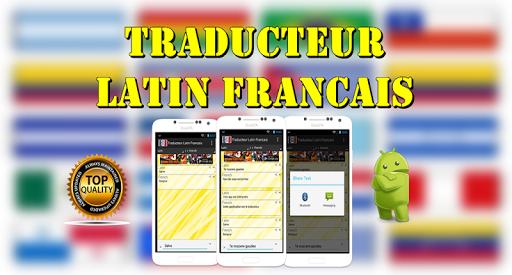 Traducteur Latin Francais
