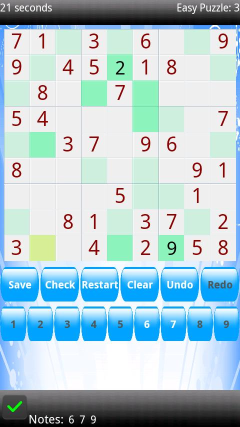 Sudoku Supreme 9x9 16x16 Free - screenshot