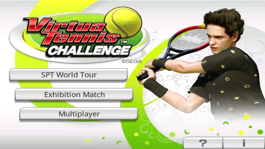 Virtua Tennis™ Challenge screenshot #1