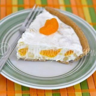 Mandarin Orange Pie.