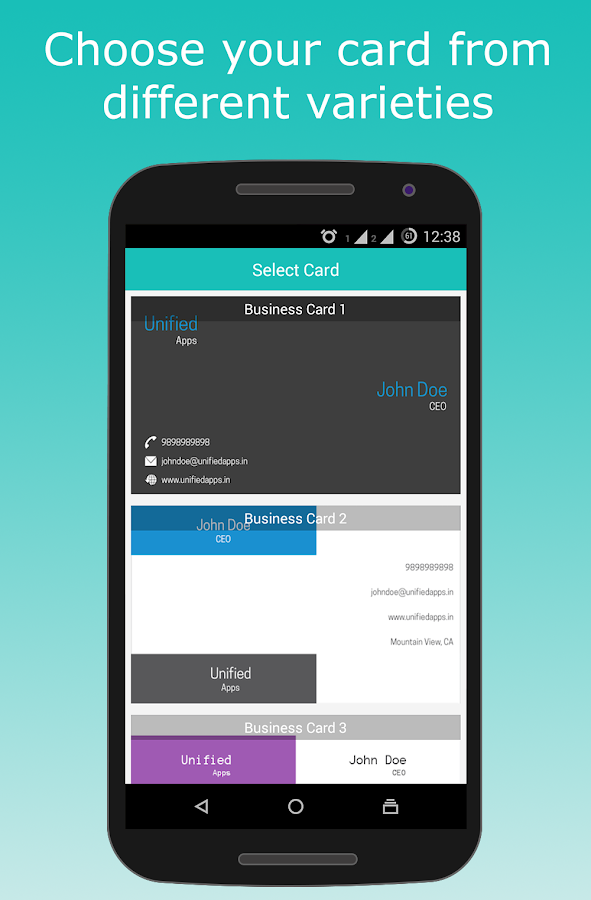 Business Card Maker - Android Apps on Google Play