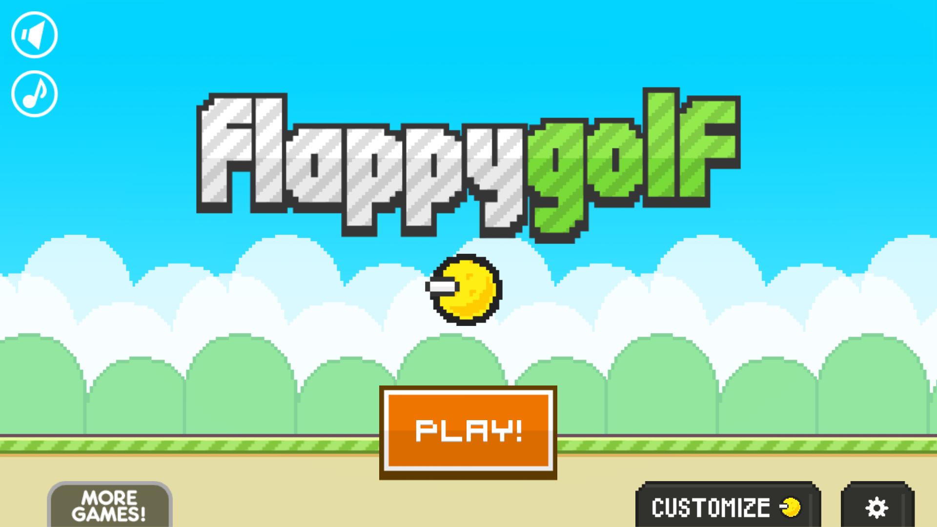 Flappy Golf screenshot #1