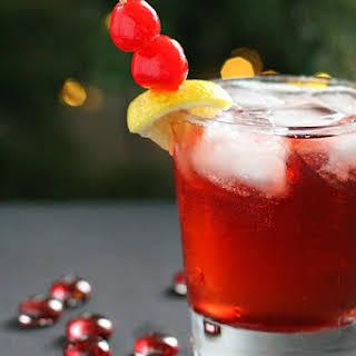Cinnamon Cherry 7UP Cocktail.