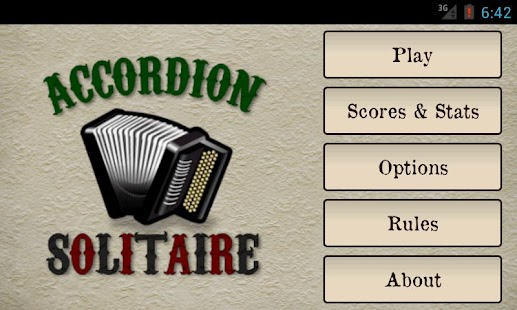 Accordion Solitaire - screenshot thumbnail