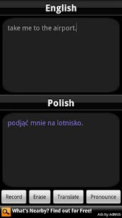 BabelFish Voice: Polish - screenshot thumbnail