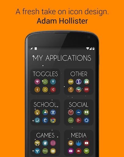 玩個人化App|Glo Free Icons: Nova Apex ADW免費|APP試玩