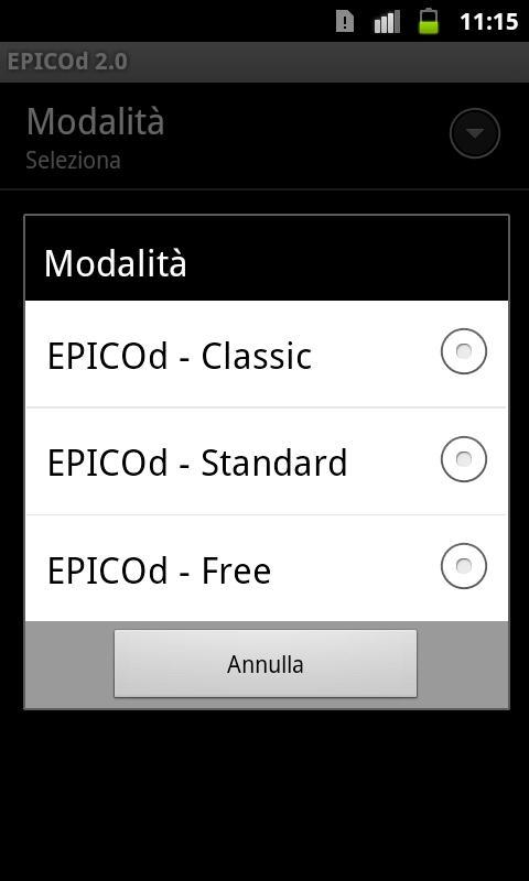EPICOd 2.1 PRO - screenshot