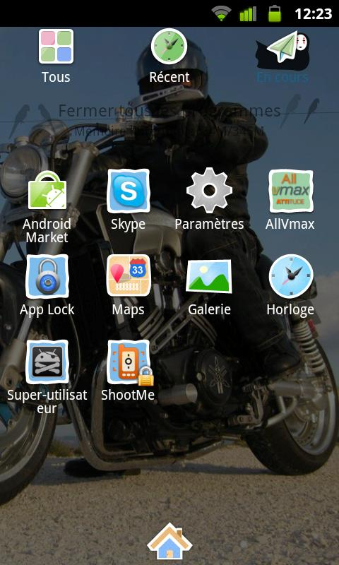 AllVmax- screenshot