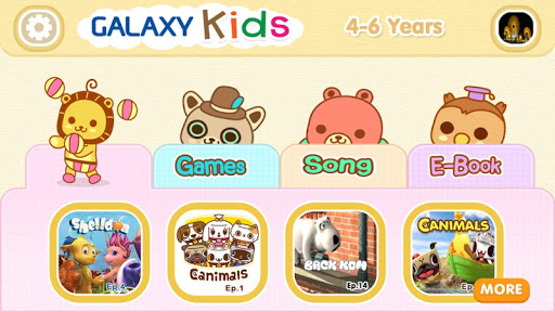 Galaxy Kids Age 4-6