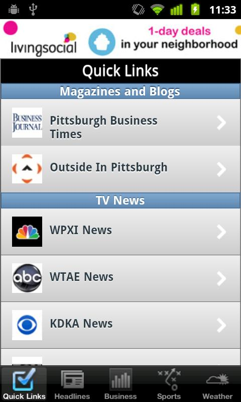 Pittsburgh Local News - screenshot
