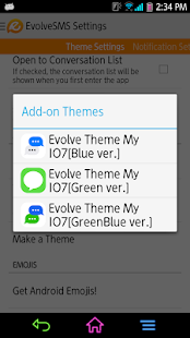 EvolveSMS - My I7[Green ver.] - screenshot thumbnail