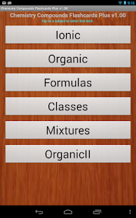 Chemistry Compounds Flashcard+