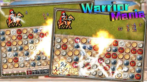 Warrior Mania - match 3 game