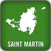 St Martin GPS Map