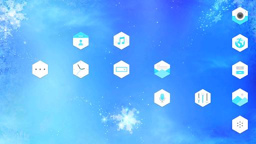 Frozen Snowflakes_ATOM theme