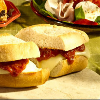 Smothered Mozzarella Sandwiches