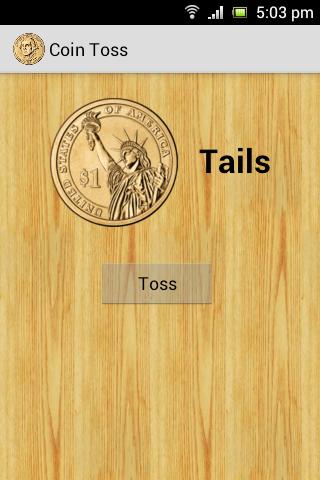Coin Flip Toss